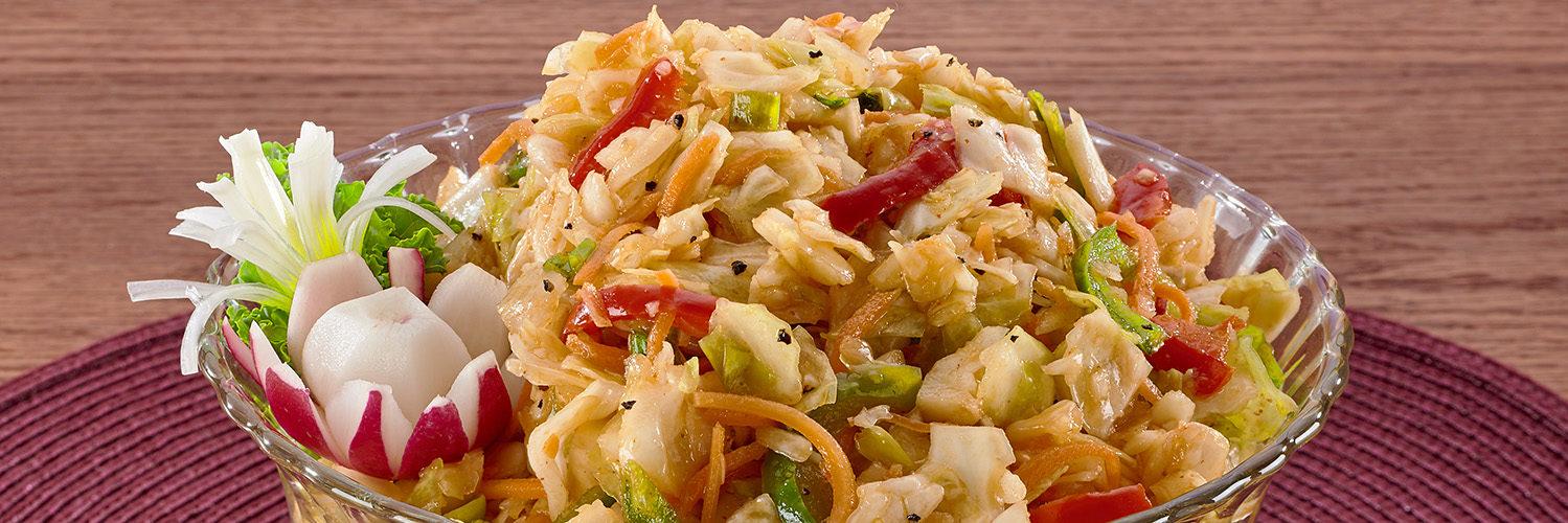 Korean Kimchi Salad